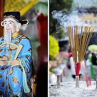 Temple in Hoi An old town, Vietnam. Copyright 2014 Terence Carter / Grantourismo. All Rights Reserved.
