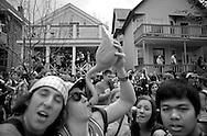 .The 2011 Mifflin Street Block Party was held Saturday April 30 on Mifflin Street in Madison.