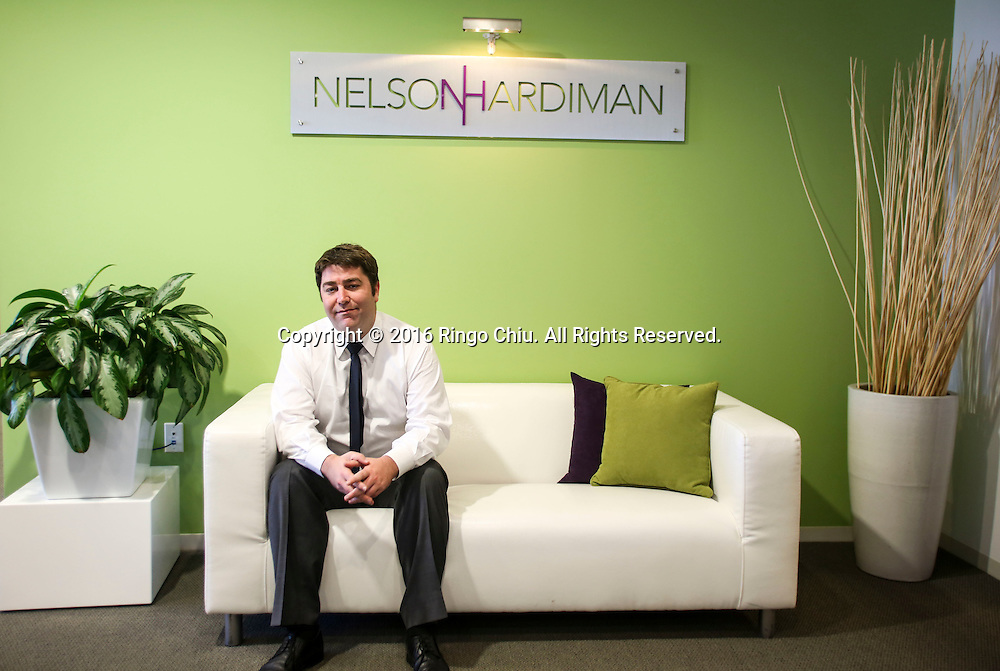 Aaron Lachant, partner at Nelson Hardiman.<br /> (Photo by Ringo Chiu/PHOTOFORMULA.com)<br /> <br /> Usage Notes: This content is intended for editorial use only. For other uses, additional clearances may be required.