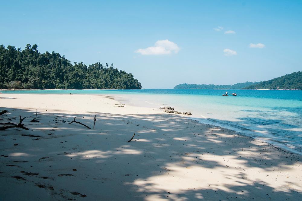Pani Island. Aboard the Meta IV, Mergui Archipelago.