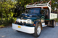 Old truck in Yara, Granma Province, Cuba.