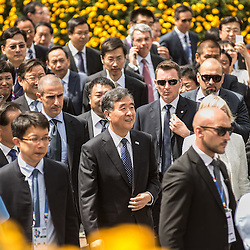 Foto Piero Cruciatti / LaPresse<br /> 08-06-2015 Milano, Italia<br /> Cronaca<br /> National China Day a Expo<br /> Nella Foto: Stefania Giannini, ministro dell&rsquo;Istruzione, Universit&agrave; e Ricerca e Wang Yang, Chinese vice premier<br /> <br /> Photo Piero Cruciatti / LaPresse<br /> 08-06-2015 Milan, Italy<br /> News<br /> National China Day at the World Expo<br /> In the Photo: Stefania Giannini, Minister of Education and  WangYang, Chinese vice premier