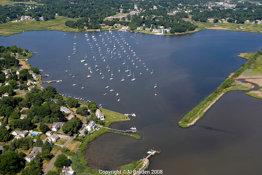North Cove and Town Landing along Connecticut River, Old Saybrook, CT
