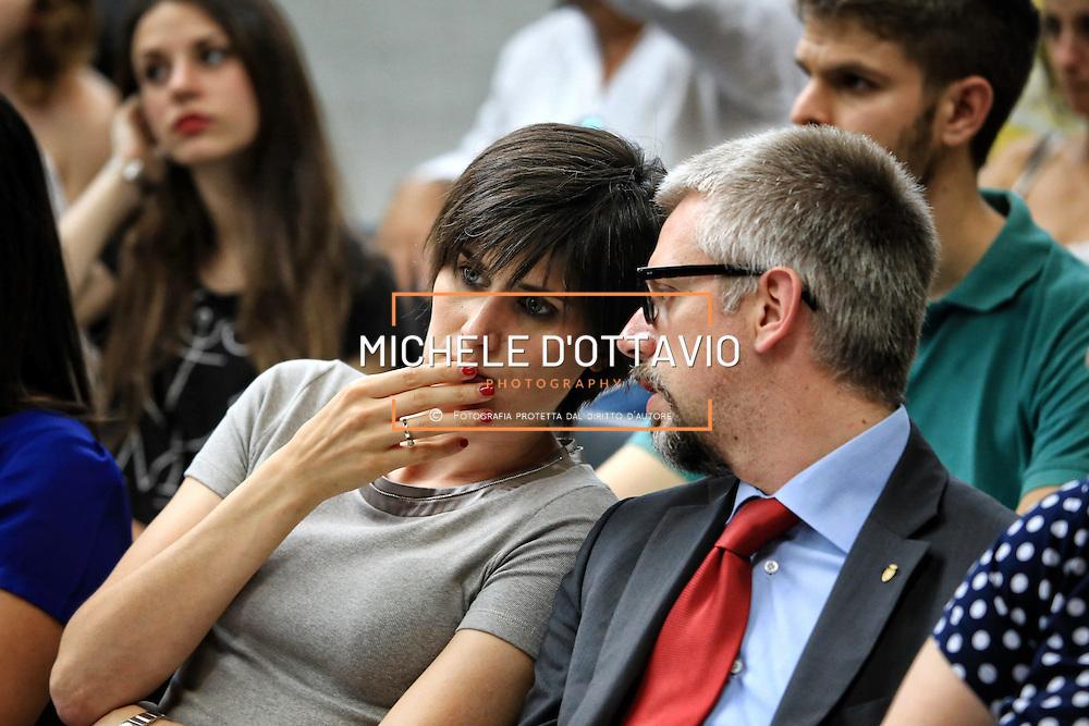 Paolo Giordana con Chiara Appendino