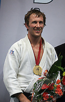Martin Thiblin vant -73 kg på verdens cup stevne for judo i Drammen 2008-09-21....Martin Thiblin won gold in -73 kg in a world cup competition in judo, Drammen, Norway, 2008-09-21