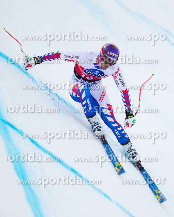 27.12.2012, Stelvio, Bormio, ITA, FIS Weltcup, Ski Alpin, Abfahrt, 1. Training, Herren, im Bild Adrien Theaux (FRA) // Adrien Theaux of France in action during 1st practice of the mens Downhill of the FIS Ski Alpine Worldcup at the Stelvio course, Bormio, Italy on 2012/12/27. EXPA Pictures © 2012, PhotoCredit: EXPA/ Johann Groder