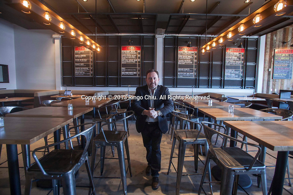 Terry Heller, owner of Plan Check restaurant in Los Angeles. (Photo by Ringo Chiu/PHOTOFORMULA.com)