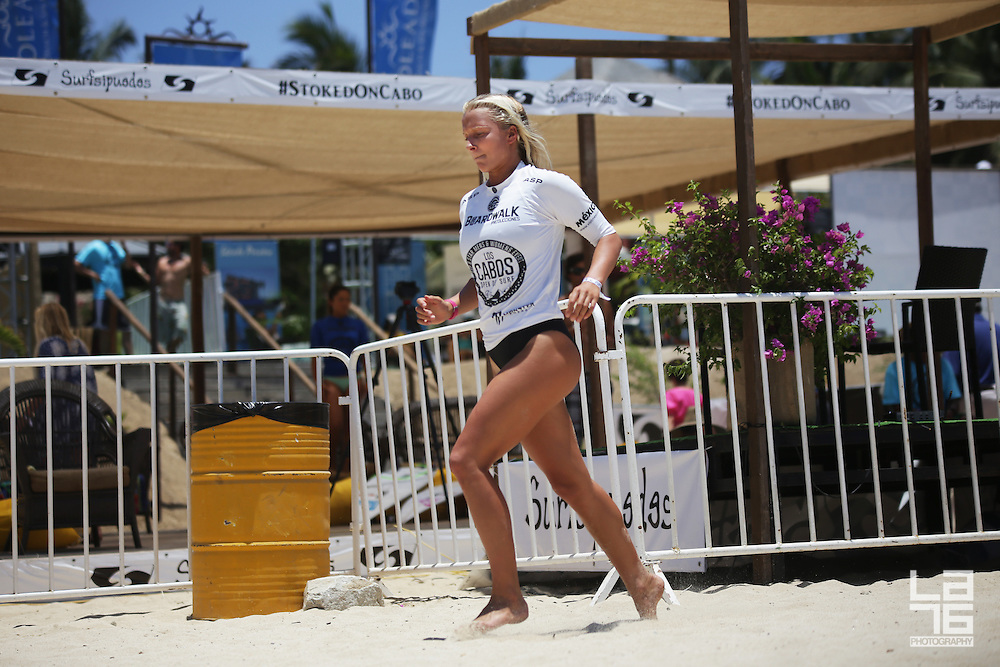 Photos of Los Cabos Open of Surf 2014, featuring surfing by: Alana Blanchard, Anastasia Ashley, Coco Ho, Sage Erickson, Laura Enever, Pauline Ado, Mahina Maeda, Lakey Peterson, Brianna Cope, Dimity Stoyle,Josh Kerr, Dion Atkinson, Matt Banting, the Gadauskas brothers, and many more top surfers.