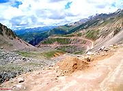 Tibet mountain road