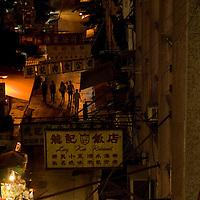 Gage street, Hong Kong mid-levels.