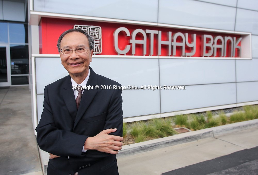 Dunson K. Cheng &ndash; Chairman and CEO of Cathay General Bancorp.<br /> (Photo by Ringo Chiu/PHOTOFORMULA.com)<br /> <br /> Usage Notes: This content is intended for editorial use only. For other uses, additional clearances may be required.