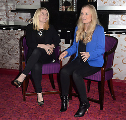 Louise Dearman and Kerry Ellis attend Press Launch at The Prince Edward Theatre, London on Friday 3 April 2015. <br /> <br /> West End leading ladies Louise Dearman and Kerry Ellis announced that they will be joining forces for the first time, professionally, for a one off concert to be held on 27 September 2015 at the Prince Edward Theatre, London. The concert promises an evening of iconic duets and will feature a live band.