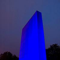 light sculpture police memorial st james park london