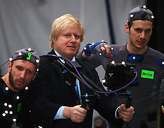 APR 4 2013 Mayor Boris Johnson visit to London Ealing Studios