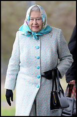 DEC 18 2014 The Queen Starts her Christmas Holiday