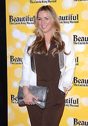 Claire Sweeney attends Beautiful - The Carole King Musical at The Aldwych Theatre, The Aldwych, London on Tuesday 24 February 2015 February 2015