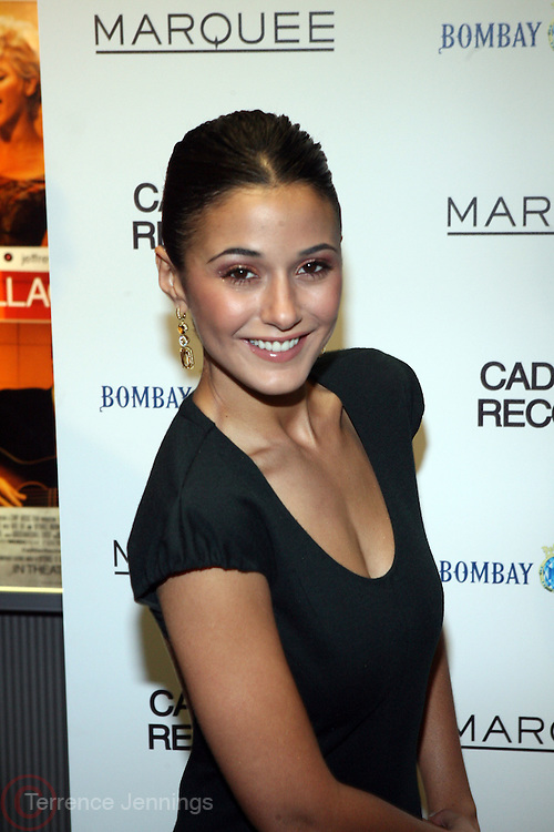 "Emmaunelle Chriqui at the ' Cadillac Records' premiere at held at AMC Broadway 19th Street on Decemeber 1, 2008 in NYC..In this tale of sex,, violence, race, and rock and roll in the 1950's Chicago, 'Cadillac Records"" follows the exciting but turbulent lives of some America's musical legends including Muddy Waters, Leonard Chess, Little Walter, Howlin' Wolf, Chuck Berry and Etta James."