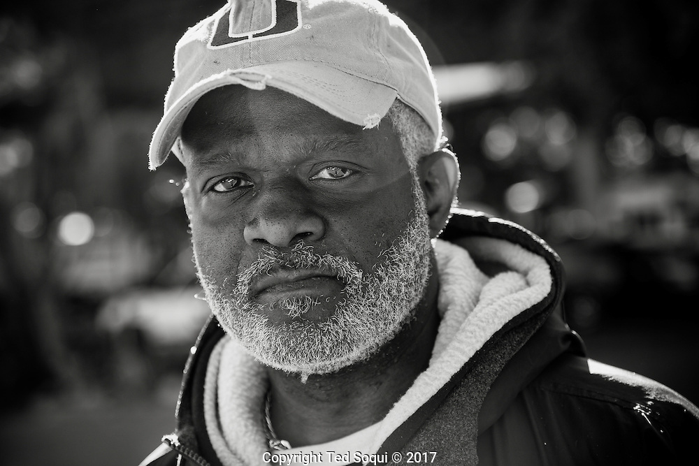 Cypress Park Community Job Center.<br /> Lloyd Johnston, day laborer.