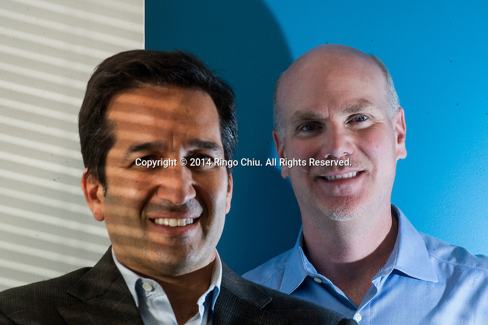 Rich Whitney, right, CEO, and Dr. Anthony Gabriel, COO of Radiology Partners.(Photo by Ringo Chiu/PHOTOFORMULA.com)