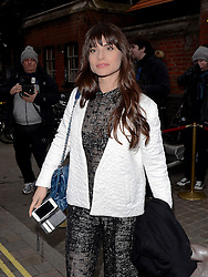 Charlotte Riley attends The Working Title Pre BAFTA VIP Brunch at the Chiltern Firehouse, London on Saturday 7 February 2015