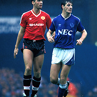 Everton v Manchester United 19.9.1987