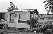 This Shack was at one point a small business that sold Plantains, Cassava, Avacados, Bananas, Beans that were grown on the land that the people lived on.  Unfortunately today everyone goes to the giant supermarkets to get their fruits and vegetables.