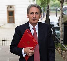 AUG 13 2014 Philip Hammond Foreign Secretary cobra meeting