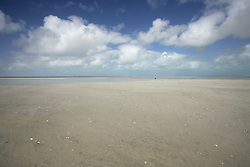 A vast expanse of sand on Eighty Mile Beach, south of Broome.
