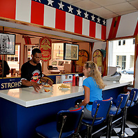 American Coney Island Restaurant in Detroit, Michigan<br />