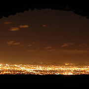 Night shots from the top of South Mountain in Phoenix, Arizona.