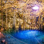 Cenote Xkeken (Cenote Dzitnup) / Yucatan / Mexico