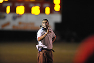 Lafayette High coach Eric Robertson vs. Duval Charter in Oxford, Miss. on Friday, September 7, 2012. Lafayette High won 69-0.