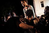 Croatia: Migrants on the train station in Tovarnik (Croatia). Alessio Romenzi