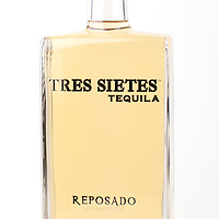 Tres Sietes Tequila reposado -- Image originally appeared in the Tequila Matchmaker: http://tequilamatchmaker.com