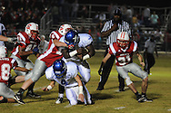 Water Valley's Jeoffrey Gordon (29) runs vs. South Pontotoc in Pontotoc, Miss. on Friday, October 7, 2011. Water Valley won 49-7.