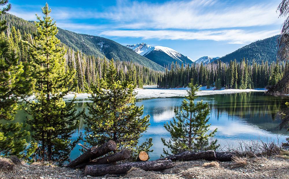 Lightning Lake, Manning Provincial Park, British Columbia, Canada