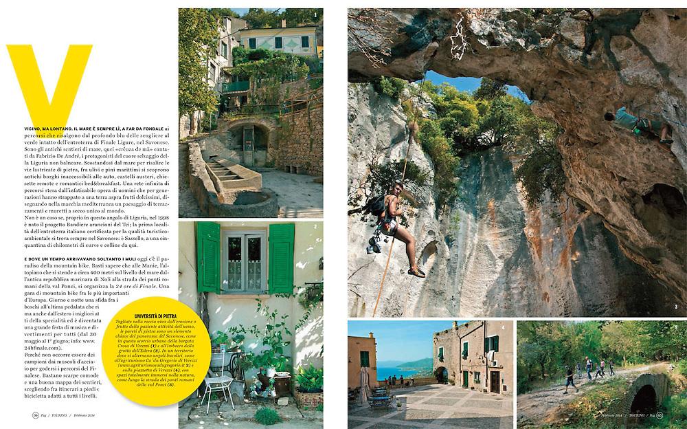 Touring magazine © Zoe Vincenti 2013