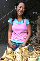 Malatapay Market Rice Packets - a place where livestock growers, local farmers and fishermen converge to sell their fresh foods. Locals take part in the market day and among themselves sometimes use the traditional Filipino barter system.  On other days of the week besides Wednesday, Malatapay is an oddly quiet place with not even a hint of activity going on. The market's exclusive mid week only schedule always makes it something to look forward to for everybody.