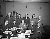 1953 - First meeting of the Great Northern Railway Board