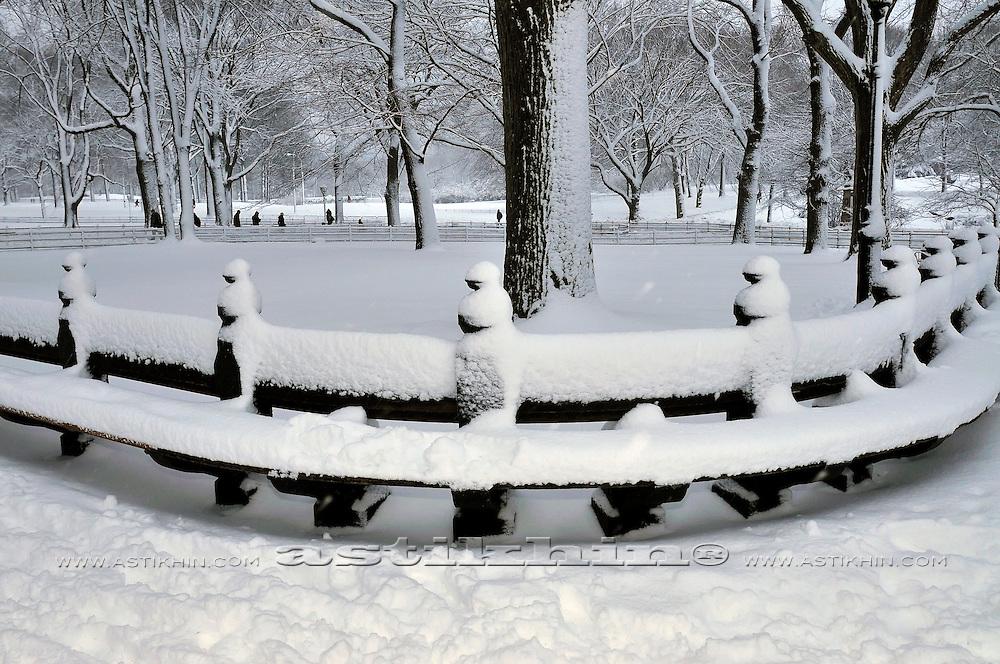 Snow in Manhattan