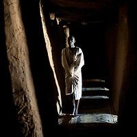 09/02/2013. Gao. Mali. Mosquée du tonneau des Askia à Gao. ©Sylvain Cherkaoui/ Cosmos pour Le Monde