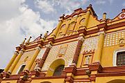 24 APRIL 2005 - SAN CRISTOBAL DE LAS CASAS, CHIAPAS, MEXICO: The cathedral in San Cristobal de las Casas, Chiapas, Mexico.  PHOTO BY JACK KURTZ
