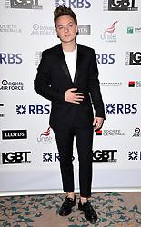 Conor Maynard attends The British LGBT Awards at The Landmark Hotel, London on Friday 24 April 2015