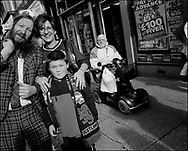 'GovanHell', portrait of a community. Govanhill, Glasgow, Scotland, UK. (Approx Date 2001)