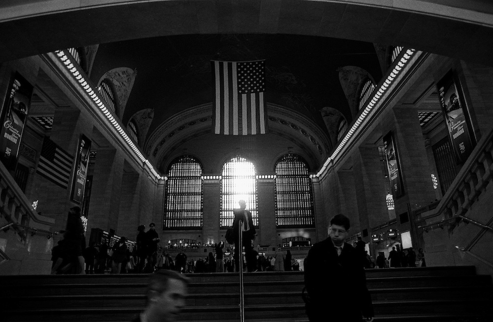 "Grand Central Station, Manhattan...Part of long-term (2005-2008) story ""I See A Darkness"". New York, NY."