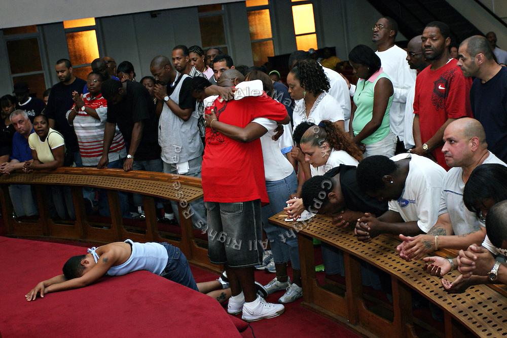 Fainted In Church