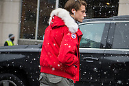 Canada Goose Coat, NYFWM Day 2