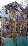 Murals at Petit Champlain, Quebec, Canada