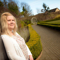 Trainee nurse Iina Janhunen from Finland, who is competing her placement training in Aberdeen, Scotland.