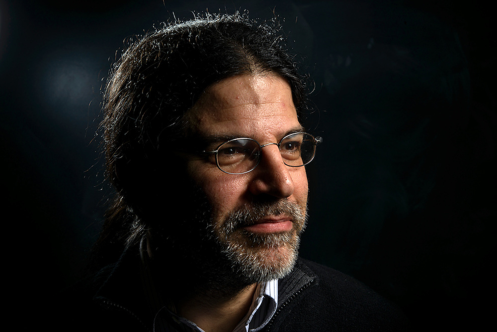 Baltimore, Maryland - February 05, 2014: David Kaplan is a professor at Johns Hopkins University specializing in theoretical particle physics. He is also the driving force behind the documentary &quot;Particle Fever&quot; set for U.S. release in March, 2014. David Kaplan is photographed at the Bloomberg Center for Physics and Astronomy February 05, 2014. <br /> <br /> CREDIT: Matt Roth